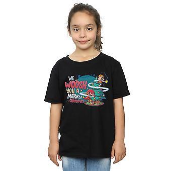 DC Comics meisjes Super vrienden we WHOOSH u een vrolijk kerstfeest T-shirt
