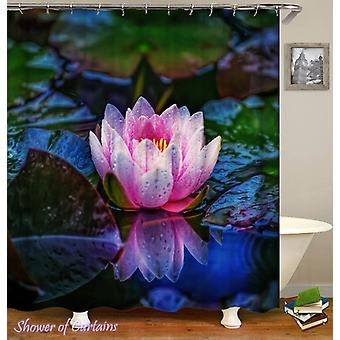 Pinkish Lotus Shower Curtain