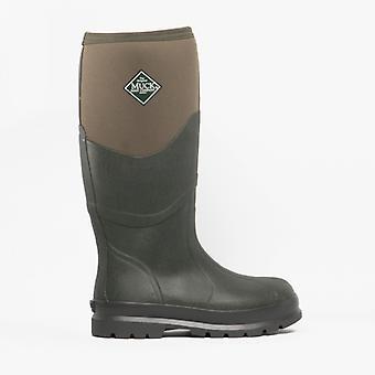 Muck Boots Chore 2k Unisex Rubber Wellington Boots Moss