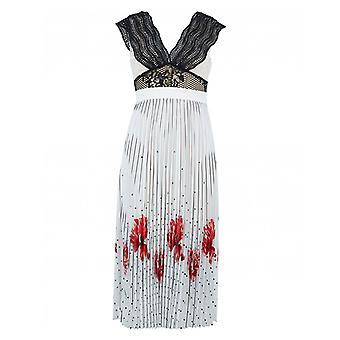 Foxiedox Hera Print Pleat Skirt Dress