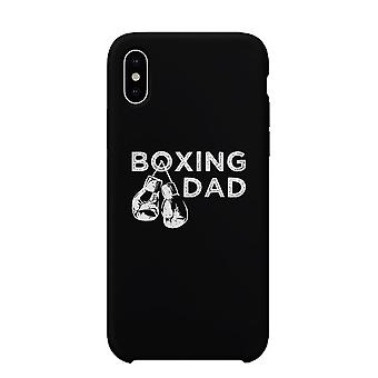 Boxing Dad Case Black Supportive Cool Proud