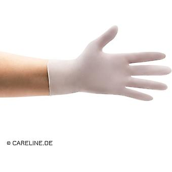 careline - nitril handschoenen - wit - maat m - doos (100st)