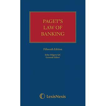 Pagets Law of Banking by General editor Ali Malek & General editor John Odgers