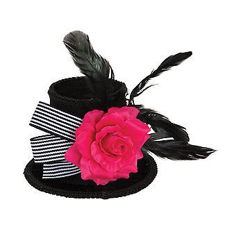 Bristol nyhed unisex mini top hat med Rose