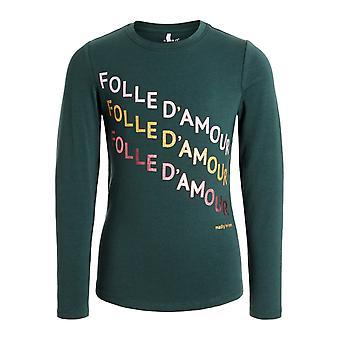 Name-It Girls camiseta NKFNICLA Teladas Verdes