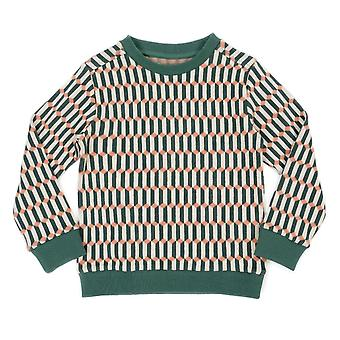 Lily Balou Sweater Mika Blocks Green