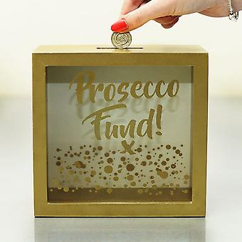 Lesser & Pavey Prosecco Fund Money Box