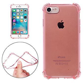 iPhone SE(2020)、8&7ケース、モディッシュ透明クッショングリッピーシールドカバー、ローズゴールド用