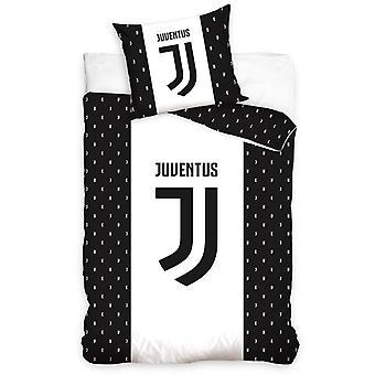 Juventus FC Letters Single Dekbed Cover Set - Europese maat