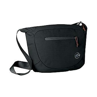 Mammoth Shoulder Round - Messenger Bags Unisex Adult Black (Black) 15x17x25 cm (W x H L)