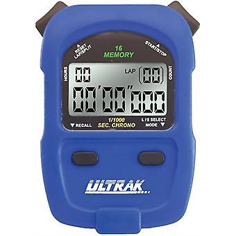 Ultrak 460-16 Lap ou chronomètre mémoire Cumulative Split