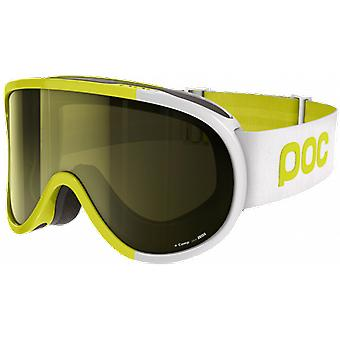 POC Ski Mask Retina Comp Hexane Yellow 2 lenses