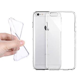 Stuff Certified® 10-pakkaus läpinäkyvä kirkas silikoni kotelo päällinen TPU-kotelo iPhone 6S