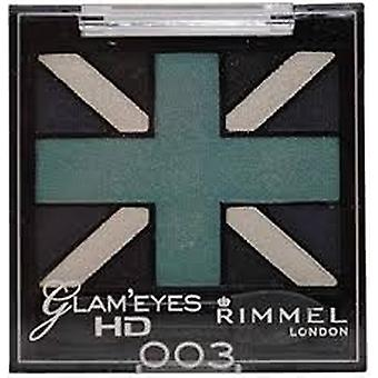 Rimmel London Glam'Eyes HD Quad 2.5g - 003 Royal Blue