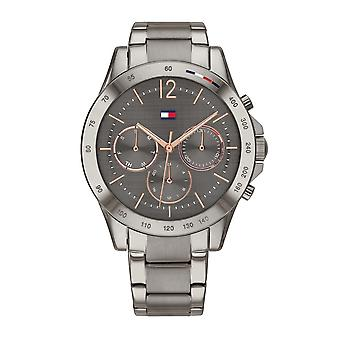 Tommy Hilfiger Watches 1782196 Ladies Haven Gunmetal Grey Steel Watch