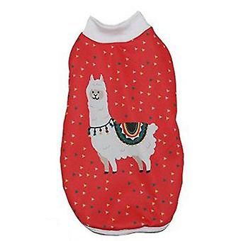 MI&DOG Abrigo Capa Felpado Llama T-35 (Dogs , Dog Clothes , Coats and capes)