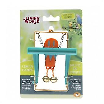 Hagen Circus Monkey Bar Orange (Birds , Bird Cage Accessories , Toys , Swings)