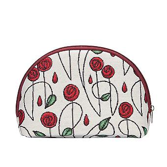 Mackintosh - simple rose cosmetic bag by signare tapestry / cosm-rmsp