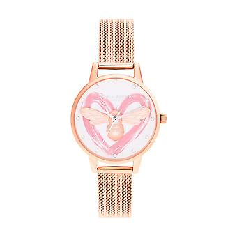 Olivia Burton WATCH OB16FB01 - Watch YOU HAVE MY HEART Women's