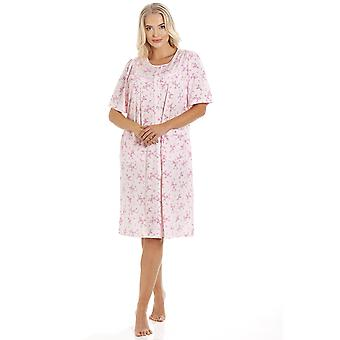 Camille LX0156C BUTTON NDRESS PINK