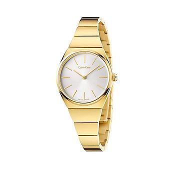 Calvin klein women's watch yellow k6c23