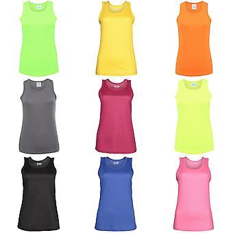 Just Cool Girlie Fit Sports Ladies Vest / Tank Top