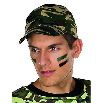 Camouflage de camouflage armée Cap imprimer accessoire militaire armée