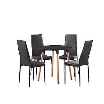 Bronx Halo Round Dining Set