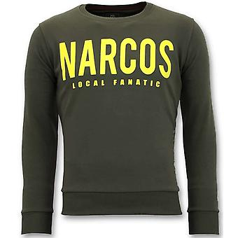 Sweater - Narcos Sweater - Green