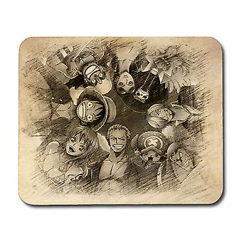 One Piece Straw Hat Pirates Mouse Pad