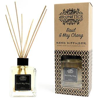 Basil & Maychang Essential Oil Reed Diffuser 200ml