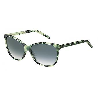 Solbriller Kvinners Cat-Eye/Wayfarer Havana grønn/grå