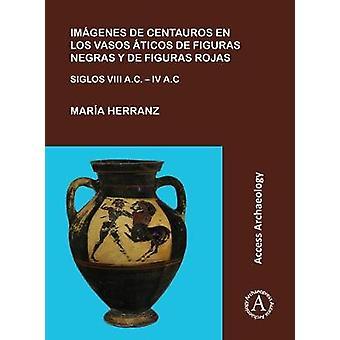 Imagenes de centauros en los vasos aticos de figuras negras y de figu