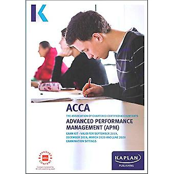 ADVANCED PERFORMANCE MANAGEMENT - EXAM KIT by KAPLAN PUBLISHING - 978