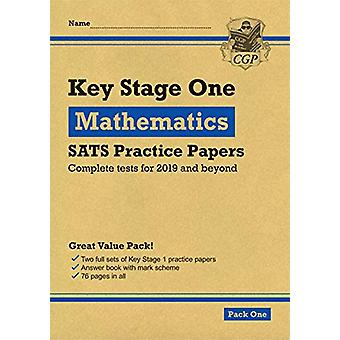 New KS1 Maths SATS Practice Papers - Pack 1 (for the 2020 tests) by CG