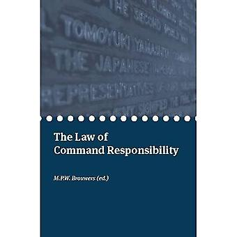 The Law of Command Responsibility