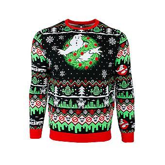 Offizielle Ghostbusters Weihnachten Pullover / hässliche Pullover