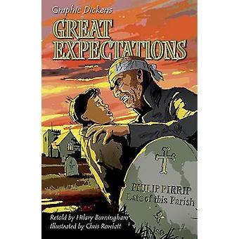 Stora förväntningar av Charles Dickens & Hilary Burningham & illustrerad av Chris Rowlatt