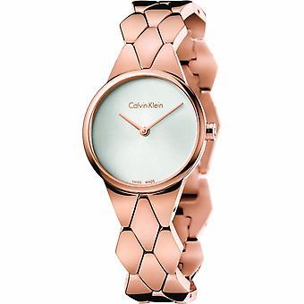 Calvin Klein K6E23646 Analogue Quartz With Stainless Steel Strap Ladies Watch