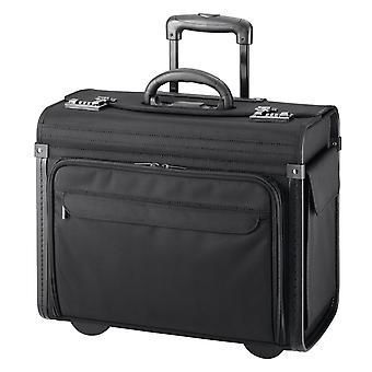 d&n Business & Travel Pilot Case 46 cm 2 Wielen, Zwart