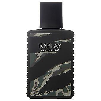 Replay - Signature Man - Eau De Toilette - 100ML