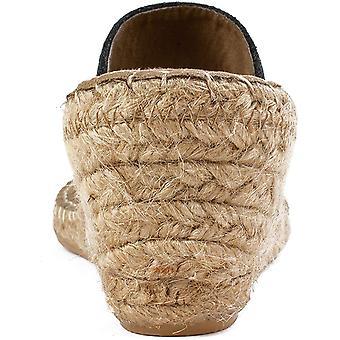WHITE MOUNTAIN Shoes Beachball Women's Sandal, Black/Glitter/FAB,