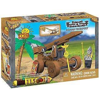 Romans & Barbarians 115 Piece Roman Catapult Construction St