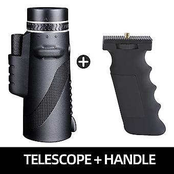 Powerful Monocular Long Range 1000m Telescope For Smartphone - 40x60 Military Spyglass Zoom