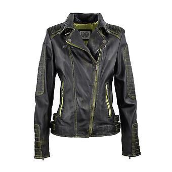 Women's leather jacket Viktoria