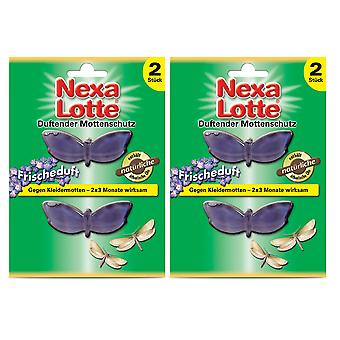 Sparset: 2 x NEXA LOTTE® Scented moth protection Fresh fragrance, 2 pieces