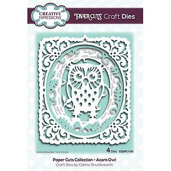 Creative Expressions - Craft Dies – Acorn Owl