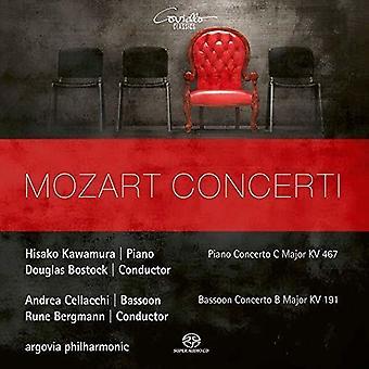 Mozart / Argovia Philharmonic / Cellacchi - Mozart Concerti [SACD] USA import