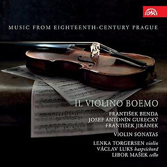 Frantisek/Gurecky/Jiranek - Il Violino Boemo: Music From Eighteenth-Century Prague [CD] USA import
