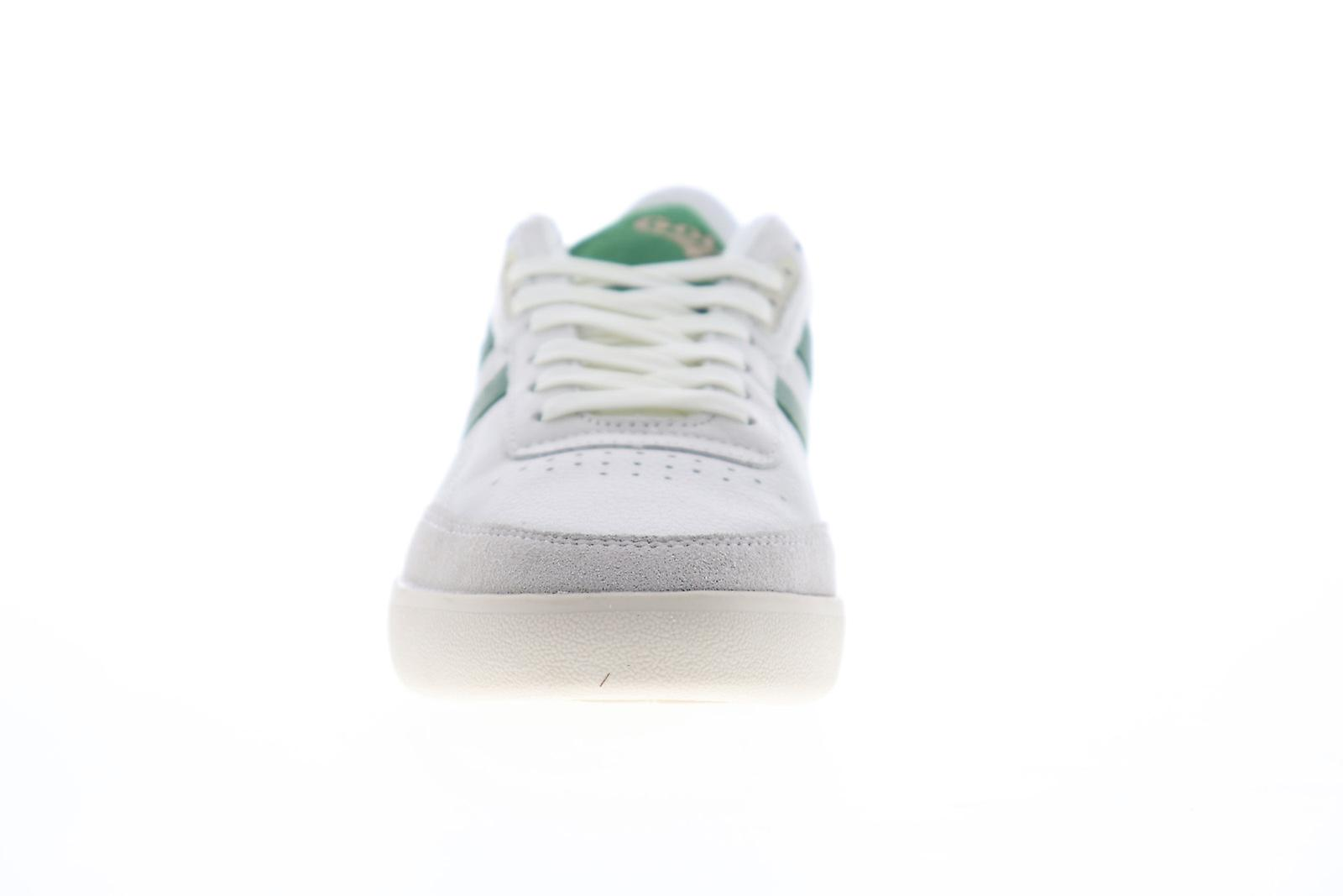 Chaussures Gola Inca Leather Mens White Lace Up Low Top Sneakers
